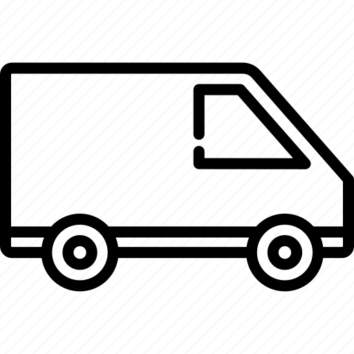 Car, delivery, logistic, transport, transportation, van, vehicle icon - Download on Iconfinder