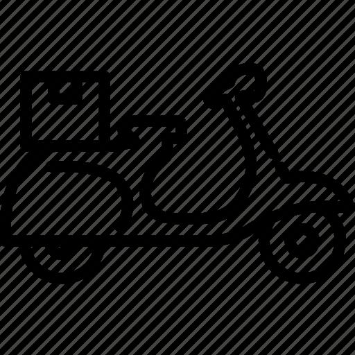 motorbike, motorcycle, ride, riding, scooter, transportation, vehicle icon