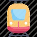 locomotive, logistic, railway, train, transportation, travel, vehicle icon