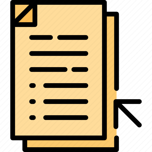 business, contract, data, document, file, paper, paperwork icon