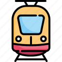 locomotive, logistic, railway, train, transportation, travel, vehicle icon