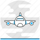 air, logistics, transport, transportation icon