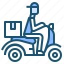 courier, deliveryscooter, express, motocycle, scooter, scooterdelivery