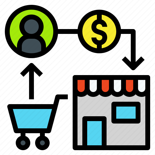 Buy Sell Icon: Buy, Commerce, Exchange, Market, Money, Sell, Trade Icon