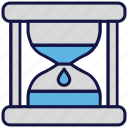 hourglass, loading, logistics delivery, timer, waiting icon