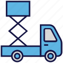 logistics delivery, shipping, transport, truck icon