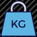kg, kilogram, logistics delivery, weight