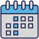 appointment, calendar, logistics delivery, month, schedule