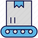 box, carton, crane, logistics delivery, parcel, transport icon
