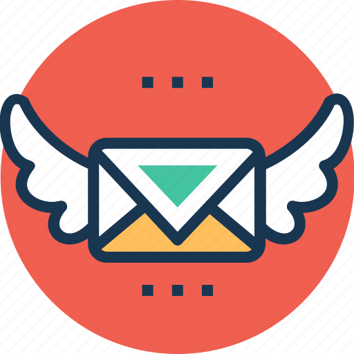 air mail, correspondence, express mail, postal services, vintage mail icon