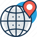 global location, gps, satellite monitoring, satellite navigation, space exploration icon