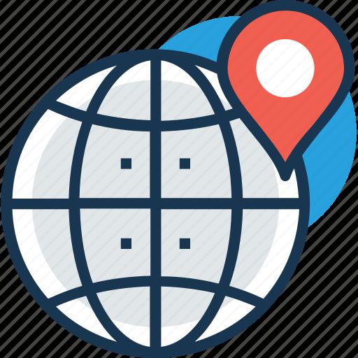 global location, gps, satellite monitoring, satellite navigation, space exploration icon