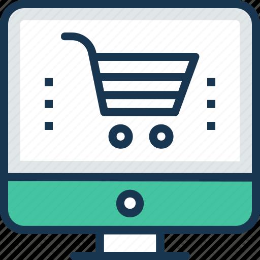 ebusiness, ecommerce, ecommerce website, online shopping, shopping cart icon