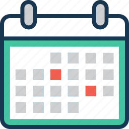 calendar, date, day, schedule, timetable icon
