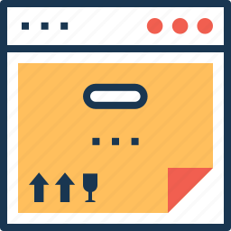 order tracking, track order, track parcel, track shipping icon