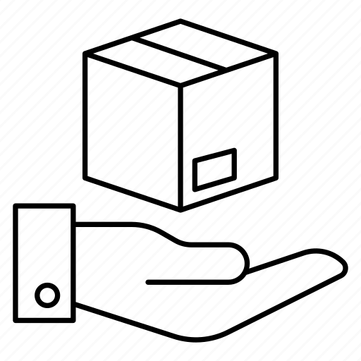 care, delivery, package, parcel icon