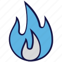 fire, flame, hot, logistics delivery icon