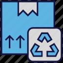 box, carton, logistics delivery, parcel icon