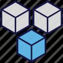 boxes, carton, logistics delivery, parcel