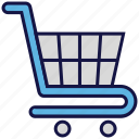 cart, logistics delivery, shipping, transport, trolley icon