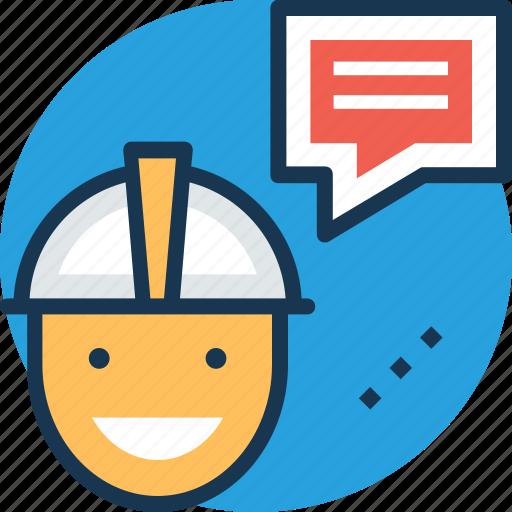 conveyer, courier, dispatcher, messenger, worker icon