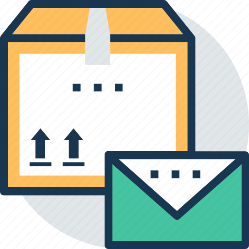 airmail, mail service, parcel post, post package, postal service icon
