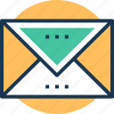 airmail, envelope, letter, mail, postal services icon