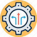 development, gear, maintenance, repairing, settings icon
