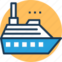 boat, cargo ship, cruise, sailing vessel, ship