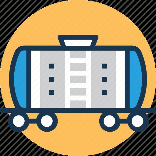 cargo train, freight train, railway transport, railway wagon icon