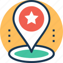 gps, location pointer, map locator, map pin, navigation icon