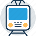 railway, train, tram, traveling, voyage icon