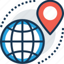 direction finder, gps, satellite monitoring, satellite navigation, space exploration icon