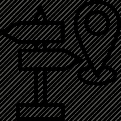 area, district, locality, location, region icon