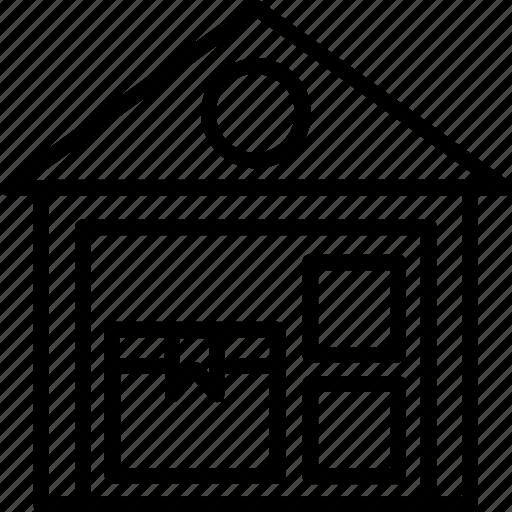 Godown, storage unit, store, storehouse, warehouse icon - Download on Iconfinder