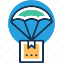 air delivery, delivery box, delivery service, fast delivery, package delivery icon