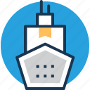 boat, cargo ship, cruise, sailing vessel, ship icon