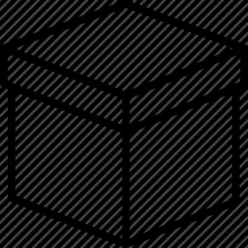 box, delivery box, delivery package, package, parcel icon