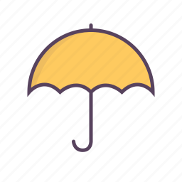 insurance, protection, secure, sign, umbrella icon