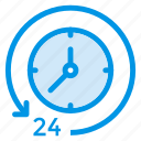 alarm, alarmclock, alert, hour, time, timer, watch icon