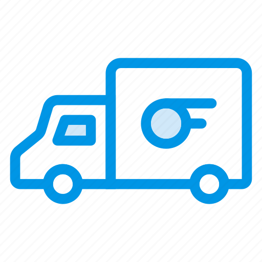 Van, auto, shipping, delivery, truck, vehicle, transport icon