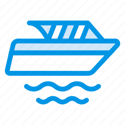 auto, boat, sea, ship, shipping, transportation, vehicle icon
