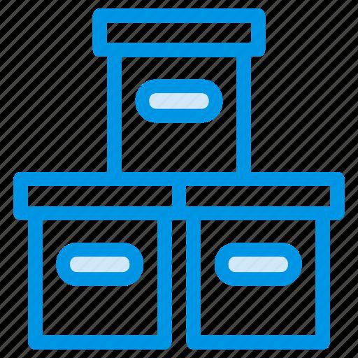box, bucket, buckets, container, design, fig, gardening icon
