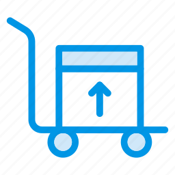 carrier, carry, cart, shop, shopping, shoppingcart, trolley icon