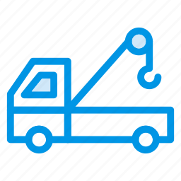 construction, crane, engineer, machinery, transport, truck, vehicle icon