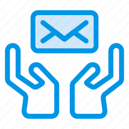delivery, email, envelope, inbox, message, protect, safe icon