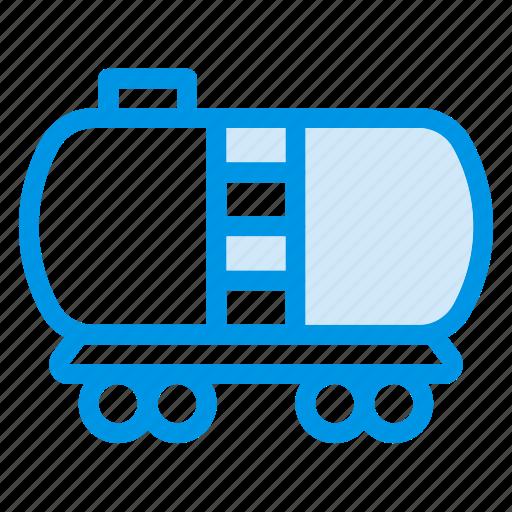 fuel, oil, oiltanker, petrol, tank, tanker, watertank icon