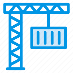 auto, crane, lifter, lifting, liftingtruck, transport, vehicle icon