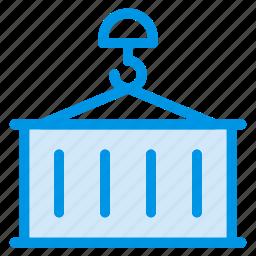 lifter, liftercrane, lifting, litter, transport, truck, vehicle icon