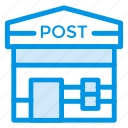 home, mailbox, network, office, post, postoffice, property icon